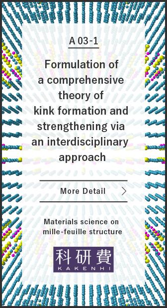 A03-1 異分野融合によるキンク形成・強化の理論構築:研究紹介はこちら